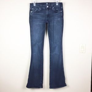 7 For All Mankind Bling A Pocket Long Tall 28
